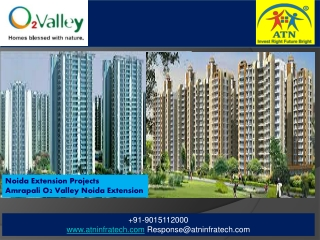 Amrapali O2 Valley Residential Property in Noida Extension