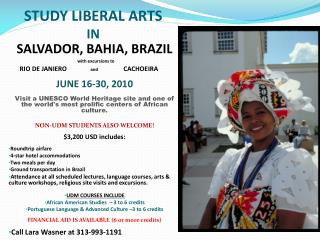 STUDY LIBERAL ARTS  IN