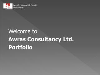 Welcome to  Awras Consultancy Ltd. Portfolio