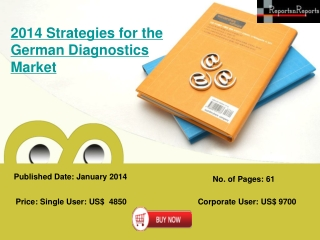 An Overview of Diagnostic Industry for Germany 2014