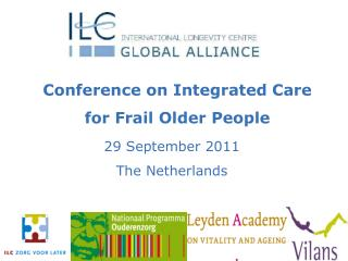 Conference on Integrated Care for Frail Older People