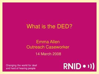 Emma Allen Outreach Caseworker