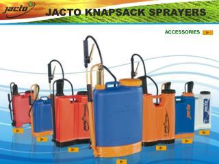 jacto knapsack sprayers