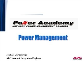 michael chrustowicz   apc network integration engineer
