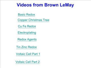 Videos from Brown LeMay