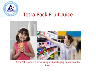 Tetra Pack Fruit Juice