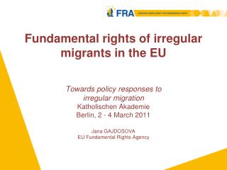 Fundamental rights of irregular migrants in the EU
