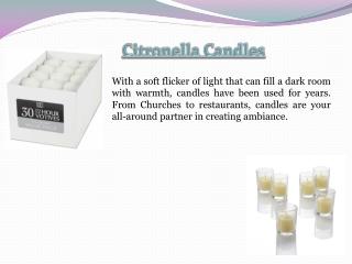 Cheap Votive Candles
