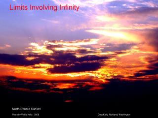 Limits Involving Infinity