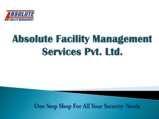 Absolute Facility Management Services