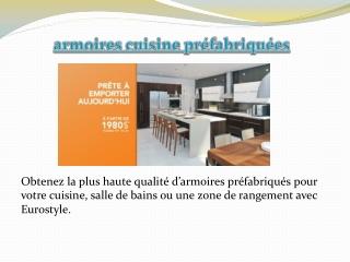 cuisine armoires.