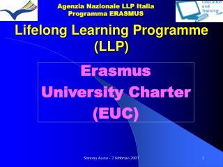 Lifelong Learning Programme LLP