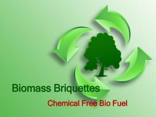 Biomass Briquettes- Pollution Free Briquettes