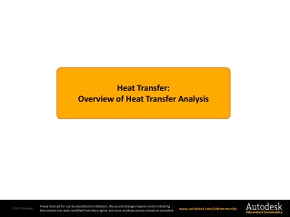 Thermal Properties and Heat Flow