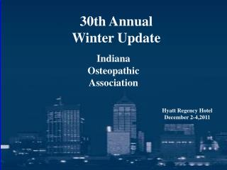 30th Annual Winter Update