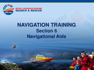 NAVIGATION TRAINING  Section 6  Navigational Aids