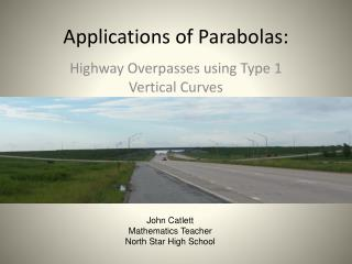 Applications of Parabolas: