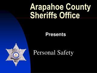 Arapahoe County Sheriffs Office