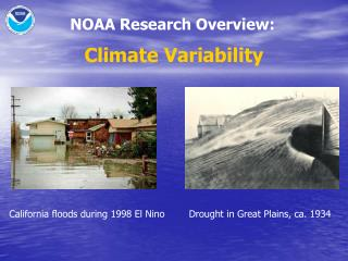 NOAA Research Overview: