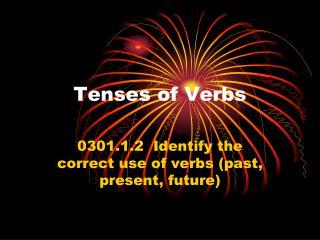 Tenses of Verbs