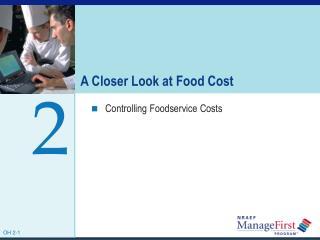 A Closer Look at Food Cost