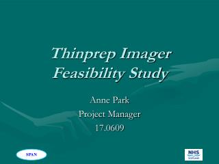 thinprep imager feasibility study