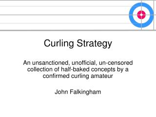 Curling Strategy