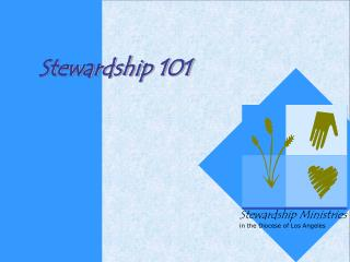 Stewardship is active                            an active expression of our faith.