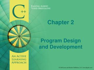 Chapter 2   Program Design and Development