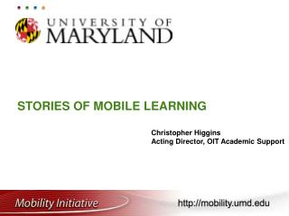 Stories of Mobile Learning