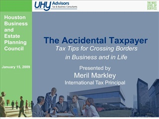 the accidental taxpayer