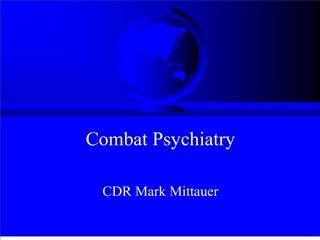 combat psychiatry
