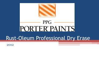 Rust-Oleum Professional Dry Erase