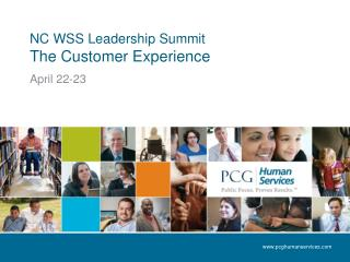 NC WSS Leadership Summit The Customer Experience