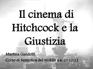 Il cinema di Hitchcock e la Giustizia