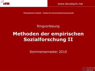 Philosophische Fakult t   Institut f r Kommunikationswissenschaft