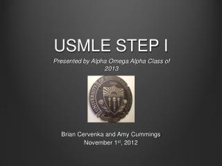 USMLE STEP I