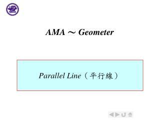 AMA  Geometer