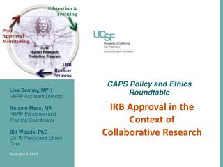 CAPS Policy and Ethics Roundtable