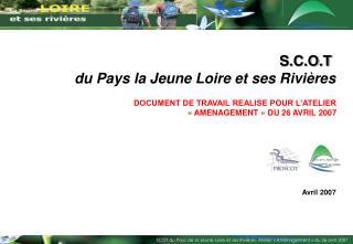 S.C.O.T  du Pays la Jeune Loire et ses Rivi res