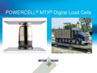 POWERCELL  MTX  Digital Load Cells