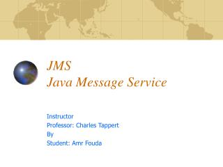 JMS Java Message Service