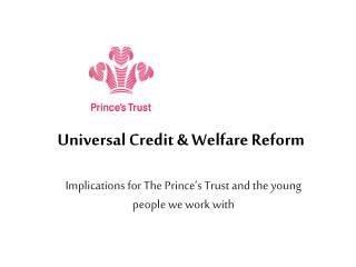 Universal Credit  Welfare Reform
