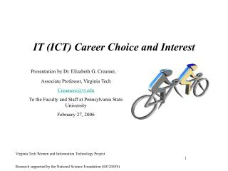 IT ICT Career Choice and Interest