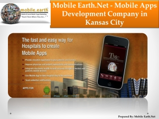 Mobile Earth.Net Mobile Development Company in Kansas City