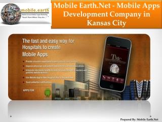 Mobile Earth.Net Mobile Development Company in Kansas City