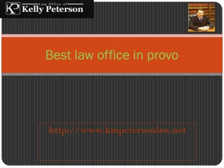 best law office in provo