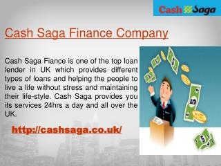 Cash Saga Car Loans