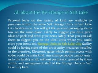 Stor-n-Lock Salt Lake City