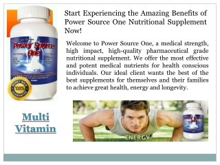 Buy Multi Vitamin